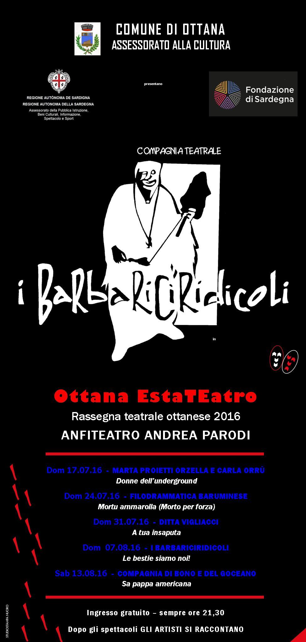 thumb EstaTeatro - Rassegna teatrale ottanese 2016