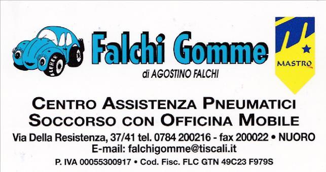 logo Falchi Gomme