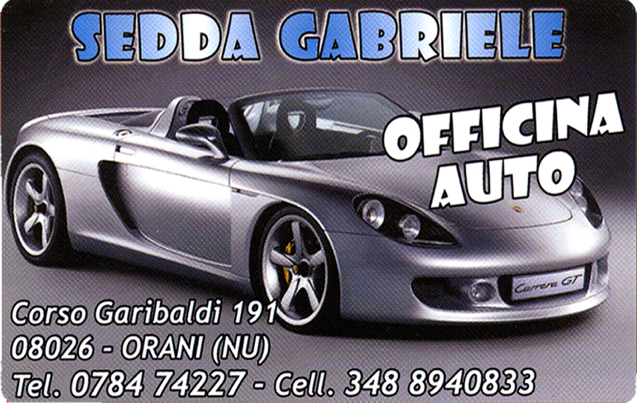 logo Auto officina di Gabriele Sedda