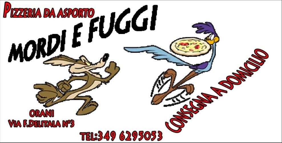 logo Pizzeria Mordi e fuggi